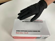 *100 X WÜRTH POWDER N LATEX FREE MEDICAL RUBBER PPE NITRILE GLOVES - MEDIUM*