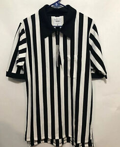 Smitty Comfort Tech 100 Referee Shirt Large 1/4 Zip Up With Pocket L NWT