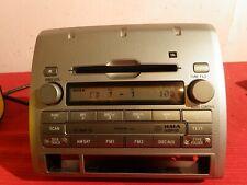 Toyota Tacoma Radio 6 Disc Cd Changer Player, w. XM 2009 - 2011 Stereo Head Unit