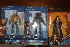Mattel DC Multiverse Aquaman Movie Action Figures Lot