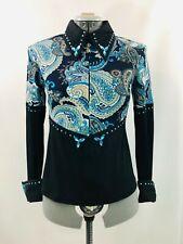 XLarge Western Show Pleasure Rail Shirt Jacket Clothes Showmanship Horsemanship