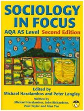 Sociology in Focus for AQA AS Level SB: Student Book,Mr Mike Haralambos