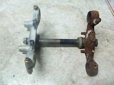 76 Honda CB750 CB 750 Four SOHC Triple Tree Forks Shocks Clamps