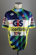 Gelati GIS Ecoflam Team jersey bike Gr. 7 XL BW 59cm cycling Rad Trikot TZ4