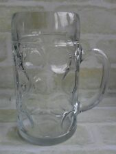 1 LTR DIMPLED GLASS BEER STEIN