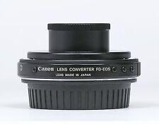 Genuine Canon Lens Mount Converter FD-EOS Mint-