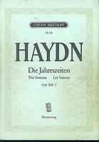 """HAYDN - """" Die Jahreszeiten """"  Klavierauszug ( Klengel )"""