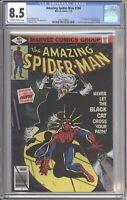 Amazing Spider-Man #194 CGC 8.5 (Marvel 1979) 1st Black Cat (Felicia Hardy)
