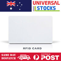 """1x NFC White Pvc Card RFID """"SMART CARD"""" for access control system Nfc Tag"""