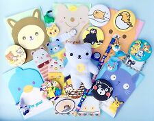 Pre Filled Kawaii Party Bags 10 ITEMS Kids Boys Girls Cute Animal Stationery Etc