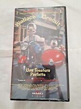 VHS Film Una Tosatura perfetta Wallace & Gromit BMG Video SIGILLATO