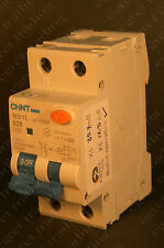 Chint NB1L B25 25A 30mA RCBO MCB Circuit Breaker - Free Postage - TESTED