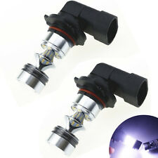 2x 9006 6000K 100W LED 20-SMD Cree Projector Fog Driving DRL Light Bulbs White