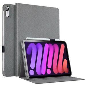 ESR Case for iPad Mini 6 (8.3 inch, 2021), Smart Cover with Pencil Holder, Gray