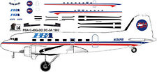 PBA  Douglas DC-3 C-47 airliner decals for Minicraft 1/144 kits
