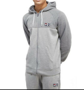 FILA Official Songini Fleece Full Zip Hoody (All Sizes M,L,XL,XXL) NEW