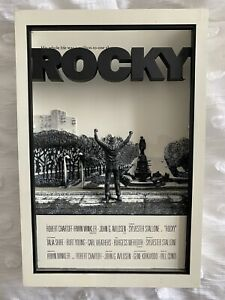 *RARE* ROCKY 3D Movie Poster 2007 McFarlane Pop Culture Toys Sylvester Stallone