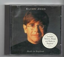 (JH315) Elton John, Made In England - 1995 CD