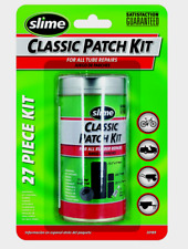 Slime Tire CLASSIC PATCH KIT 20189 For All Tube 27 Pcs Bikes Mowers Wheelbarrows