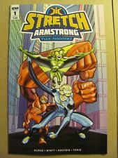 Stretch Armstrong and the Flex Fighters #1 IDW 2018 Series 9.6 Near Mint+