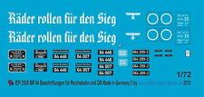 Peddinghaus 2928 1/72 BR 64 Beschriftungen für Reichsbahn und Bundesbahn