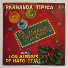 LOS ALEGRES DE HATO TEJAS / PARRANDA TIPICA / LP RECORD / PUERTO RICO
