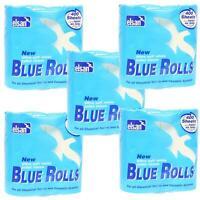 20x Elsan Blue Toilet Rolls Caravan Motorhome Dissolvable Cassette Paper 4 Pack