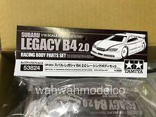 Tamiya Subaru Legacy B4 2.0 Racing Body Parts Set TRF 1/10 R/C (53824)