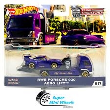Hot Wheels Car Culture Team Transport #17 RWB Porsche 930 (Purple) / AERO LIFT