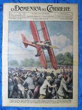 La Domenica del Corriere 24 giugno 1934 Colombo - Lago Garda - Mussolini-Hitler
