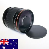 NEW 500MM F/6.3 T2 MIRROR REFLEX LENS INC FOR CANON EOS SLR Camera  + T2 MOUNT