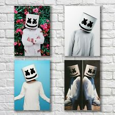 Marshmello Poster A4 Print Home Wall Decor DJ