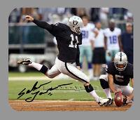 Item#3999 Sebastian Janikowski Oakland Raiders Facsimile Autographed Mouse Pad