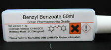 Pure Benzyl Benzoate 99.9% Pharmaceutical Grade - Sweet Itch, Mites & Lice