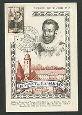FRANCE MK 1946 JOURNEE TIMBRE LA VARANE MAXIMUMKARTE MAXIMUM CARD MC CM d7260
