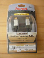 Hama FireWire-Kabel, 6pol Stecker,