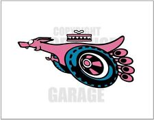 FORD XY GT SUPER ROO PINK WORKSHOP BANNER
