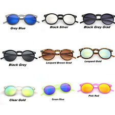 Unisex Vintage Retro Women Men Glasses mercury Mirror Lens Sunglasses Fashion