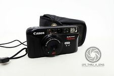 Canon Sure Shot Telemax 35mm Compact Film Camera with case lomo retro