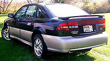 SPOILER FOR A SUBARU LEGACY 4-DOOR SEDAN CUSTOM STYLE 2000-2004