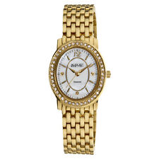 Women's August Steiner AS8043YG Genuine Diamond Dial Markers Bracelet Watch