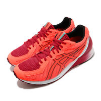 Asics Tartheredge2 2E Wide Sunrise Red Black Men Running Shoes 1011A855-600