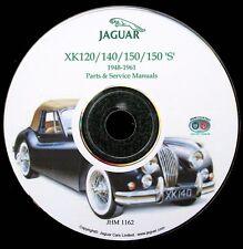 Jaguar XK120, XK140 & XK150 Workshop Service & Parts Manual on CD-ROM (Used)
