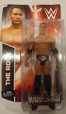 the ROCK WWE Mattel Basic Wrestlemania Heritage Action Figure Toy NEW in PKG