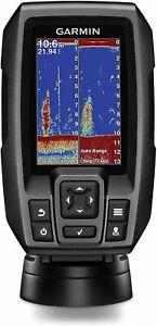 """Garmin 010-01550-00 Striker 4 with Transducer, 3.5"""" GPS Fishfinder with Chirp Tr"""