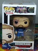Suicide Squad Boomerang Pop #101 Vinyl Figure Funko Aus Seller