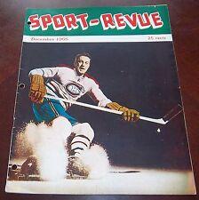 Les Sport December 1955 Dave Bier Montreal Canadians