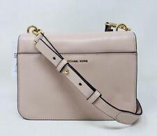 Michael Kors Mott Charm Swag Large Leather Bag Soft Pink Retail $298