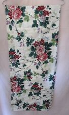 """WAVERLY Home Fabrics Pleasant Valley Valence 78"""" Floral  Retired 10 Available"""