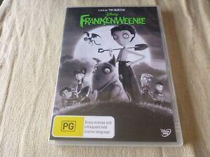 Frankenweenie (DVD) Region 4 Winona Ryder Catherine O'Hara
